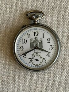 ANTIQUE MILITARY POCKET WATCH JUNGHANS WWII