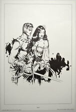 SPACE HEROES PRINT 8 w UNPUBLISHED ARTWORK by Al Williamson & Frank Frazetta