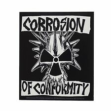 CORROSION OF CONFORMITY - SKULL STICKER - Official Merchandise - NEW - METAL