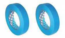 3M  Mask Tape 2 x 19 mm x 50 m Blue Car Painting Masking Water Solvent Resistant