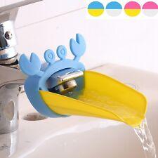 Süß Wasserhahn Extender für Kinder Bequemlichkeit Händewaschen Krabbe-Form R1W2
