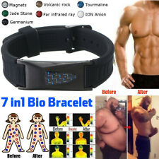 7 in 1 Titanium Magnetic Energy Armband Power Bio Bracelet Health Pain Relief