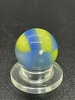"""Marble King Marble Vintage Marble King Translucent GOLDEN BOY Marble .591"""" NM-M"""