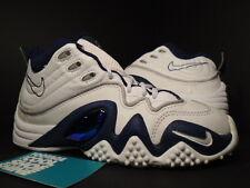 1997 OG Nike Air Zoom FLIGHT FIVE 5 JASON KIDD 1 WHITE NAVY BLUE SILVER 4.5Y 4.5