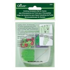 CLOVER  KNITTING ACCESSORY SET FOR SOCK W/CASE 3035