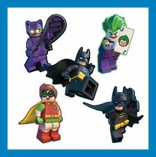 16 Lego Batman Movie Shaped Stickers Party Favors