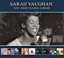 SARAH VAUGHAN - 8 CLASSIC ALBUMS (NEW SEALED 4CD) Eight