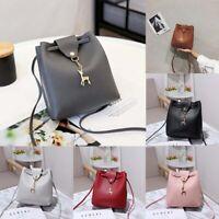 Travel PU Women Leather School Backpack Girls Fashion Handbag Bag Lady Shoulder