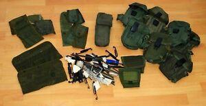 Konvolut diverse ALICE Taschen US Army Magazin Kompass Reinigungszeug Clips etc.