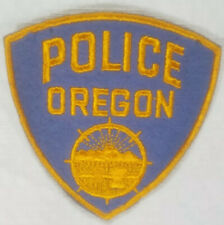 Oregon Police Department Patch