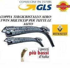 2 spazzole auto tergicristallo AEROTWIN RENAULT SCENIC II 2 da 12/2004 a 04/2009