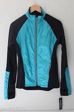 NWT SKEA Shimmies Power Stretch Teal Blue Black Soft Shell Ski Jacket S $240