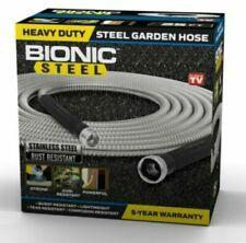 Bionic Steel Metal Garden Hose Heavy Duty 304 Stainless Steel Lifetime Hose