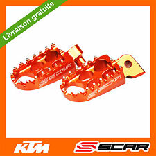 REPOSE CALE PIED STD KTM 50 65 150 250 350 450 SX SXF SX-F EXC EXC-F ORANGE SCAR