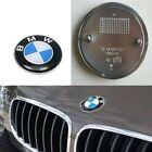 NEW OEM 82mm 2 Pins Car Emblem Chrome Front Badge Logo For BMW Hood/Trunk