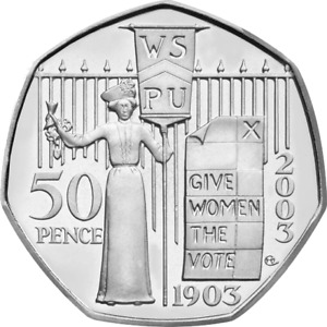 Uk British Commemorative Circulated 50p Coins ideal for coin hunt collectors
