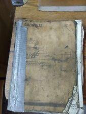 CATERPILLAR D9H TRACTOR  POWERSHIFT  PARTS MANUAL sep1156