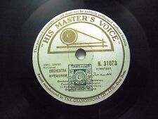 NATIONAL ANTHEM VANDE MATARAM INDIAN NATIONAL N 31073 RARE 78 RPM RECORD VG+