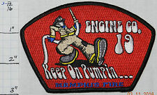 TENNESSEE, MEMPHIS FIRE DEPT ENGINE 19 PATCH