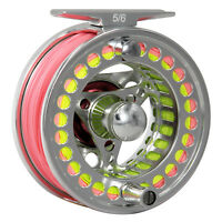 3/4 5/6 7/8 9/10 WT Fly Fishing Reel & Fly Line CNC Machined Reel  WF Line