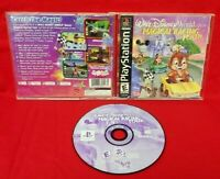 Disney Magical Racing Tour  - Playstation 1 2 PS1 PS2 Game Tested Working