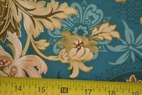 By 1/2 Yd, Turquoise Brown & Tan Quilting Cotton, Windham/Alexsandra/Koval M8101
