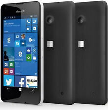 Microsoft Nokia Lumia 550 4G LTE Dual cameras(front and back) Smartphone -Black