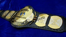 WWF 2mm DUAL PLATED Winged Eagle Wrestling Championship Adult Replica Belt