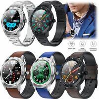Männer Smart Watch Herzfrequenz Blutdruck Armband Bluetooth Anruf Remote Kamera