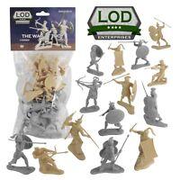 LOD Enterprises Set 01(Gray)--The War at Troy Set 1-16 in 8 poses (cream & gray)