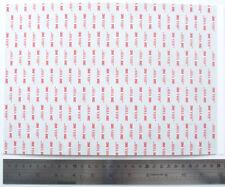 3M™ VHB RP45 Very High Bond Double Sided Sticky Acrylic Adhesive Foam Sheet Pad