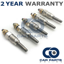 5X FOR SSANGYONG MUSSO 2.9 (1995-) DIESEL HEATER GLOW PLUGS PLUG FULL SET