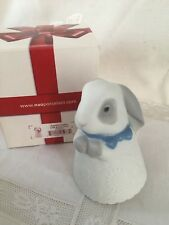 NAO by LLADRO' - little bunny - coniglio bianco blue - porcellana