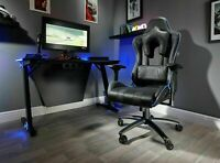 Used X-Rocker Amarok Officially Licensed PlayStation Gaming Chair - Black-GBR180