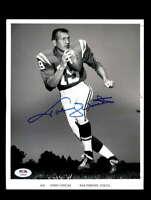 Johnny Unitas PSA DNA Coa 1960`s Signed 8x10 Photo Autograph
