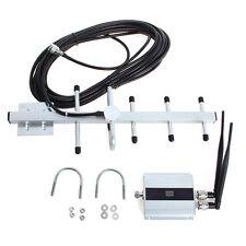 LCD Amplificatore Segnale Booster Ripetitore 3G per Cellulare + Antenna
