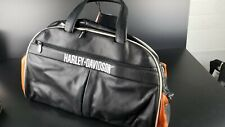 Harley Davidson Leather Duffel Bag - Athalon Leather Deluxe Duffel 99605