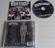 CD L'ECOLE DES POINTS VITAUX SEXION D'ASSAUT ALBUM 16 TITRES RAP FRANCAIS