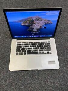 """Apple MacBook Pro Retina 15"""" (2012) i7 2.3GHz 8GB 256GB SSD - Light LCD hotspots"""