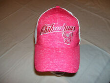 El Paso Chihuahuas MiLB Ladies Adjustable Hat Pink/White Unique Cute Padres NEW