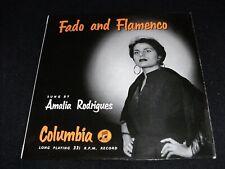 """AMALIA RODRIGUES - FADO AND FLAMENCO - 1950'S U.K. COLUMBIA 33CS14 VINYL 10"""" LP"""