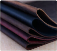 Leather Crazy Horse Oil Tanned Cowhide 2 mm Thick Craft DIY Choice Size & Color