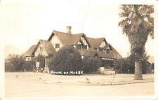 RPPC House of Mudge, Phoenix, Arizona 1948 Vintage Postcard