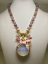 Kirks Folly Avalon Fairy Seaview Moon Magnetic Enhancer WITH NECKLACE! New!