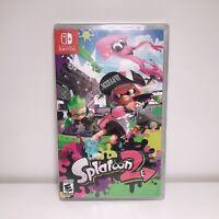 New Sealed Splatoon 2 (Nintendo Switch) SHIPS FAST
