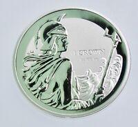 Falkland Islands 1 oz .999 Silver Bullion Britannia Reverse Proof Coin Capsule