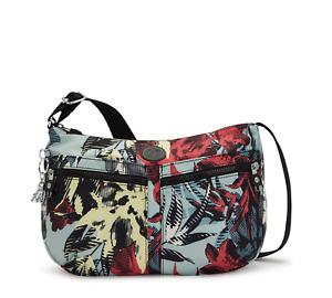 Kipling Medium Shoulder Bag IZELLAH Across Body CASUAL FLOWER Print FW21 RRP £73
