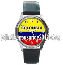 Colombia/Colombian Flag UNISEX Watch-Unisex.Great gift.Hurry.Mens & Ladies