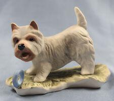 west highland Terrier Hund  porzellanfigur porzellan figur goebel westie alt