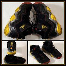 Adidas Black Gray Yellow High Top Athletic/Hiking/Walking Shoe M Size (10) #9710